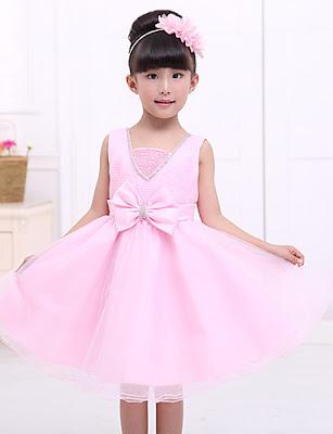 Vestidos de gala para niñas Color