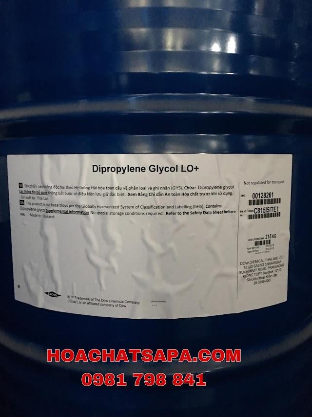 DUNG MÔI DIPROPYLENE GLYCOL LO+ (DPG)