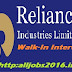 Reliance 2016 Mega Walk-In Drive for Freshers As Application Developer On June 2016 at Maharashtra