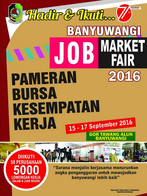 Banyuwangi Gelar Job Market Fair 2016