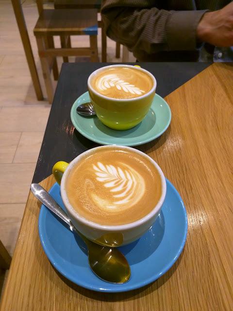 Cappuccino at Sister Sadie in Dublin