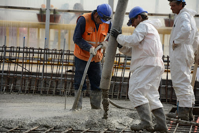 Colocación y vibrado de concreto