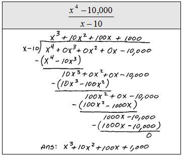 OpenAlgebra com: Dividing Polynomials