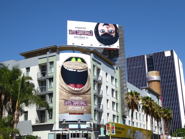 Hotel Transylvania 2 film billboards