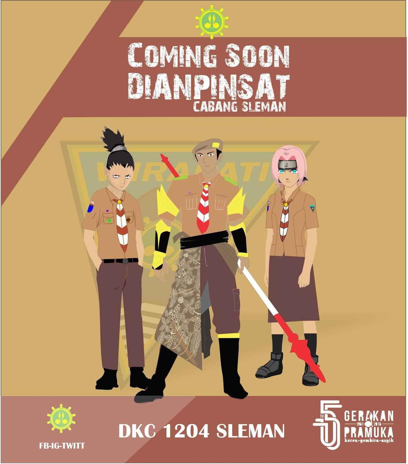 Dianpinsat 2016 Pramuka Sleman