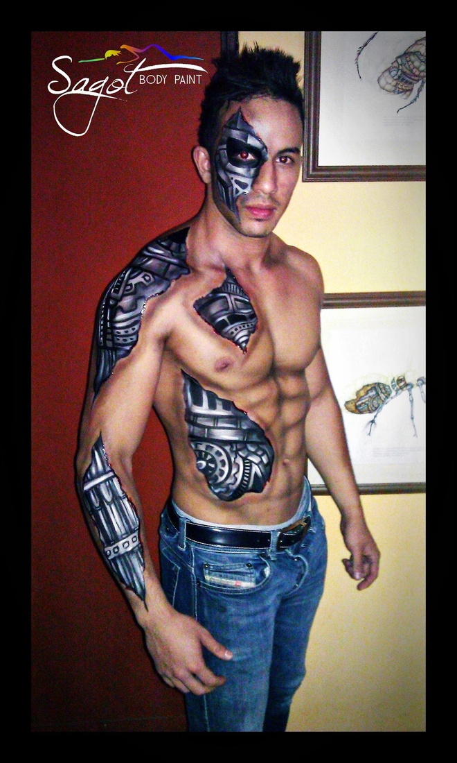 10-Cyborg-Make-Up-Sagot-Body-Paint-Eclectic-Collection-of-Body-Painting-Make-Ups-www-designstack-co
