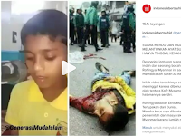 INNALILLAHI.. Bocah Rohingya yang Melantunkan Ayat Suci Al-Qur'an Dengan Sangat Merdu ini Telah Syahid