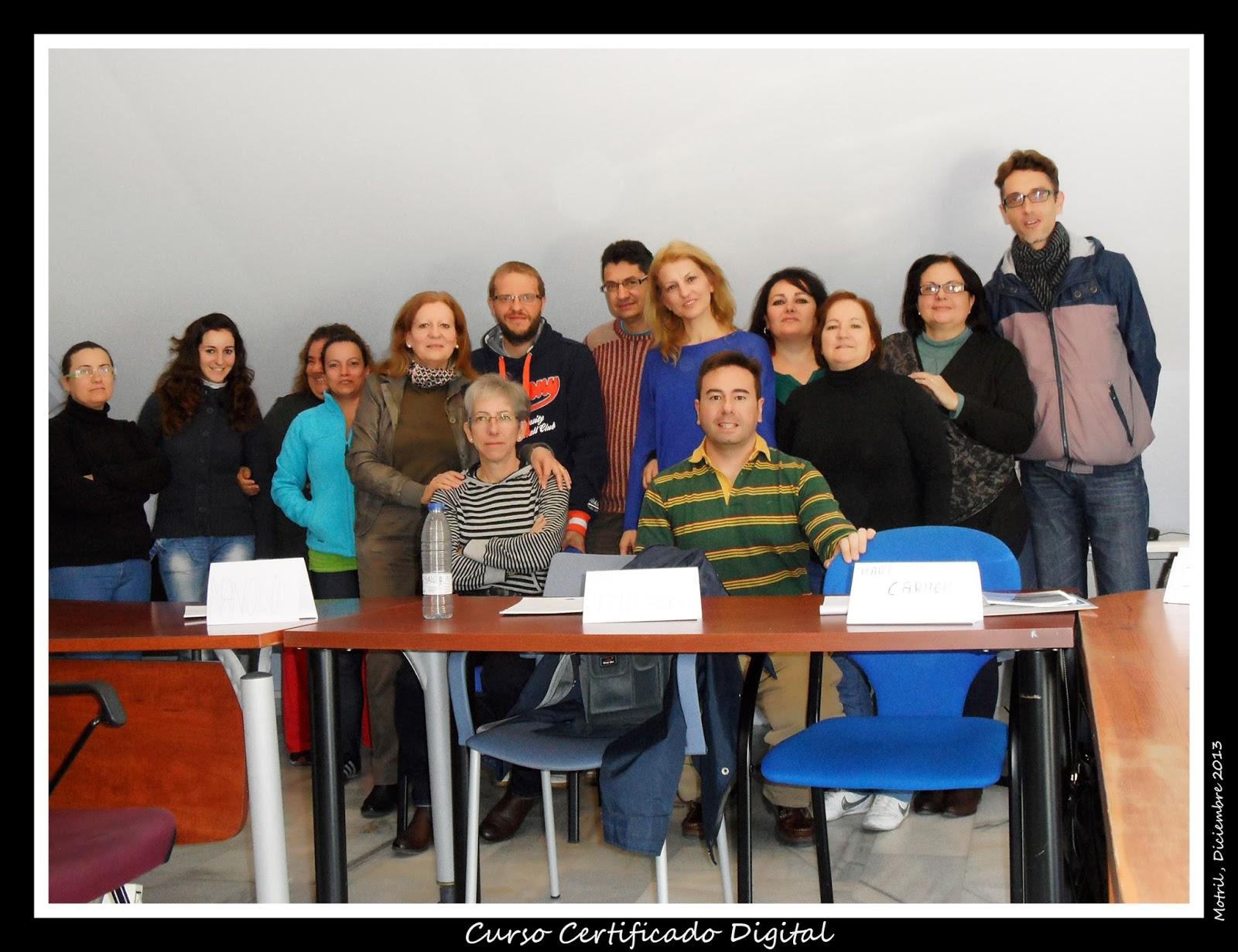 Tecnoinfe tecnolog a inform tica y educaci n fotos del curso de certificado digital - Oficina virtual de fpe ...