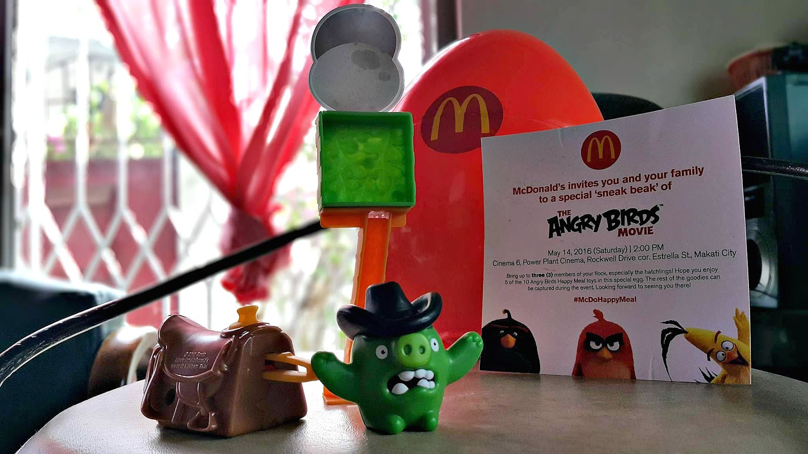 What's New : The Angry Birds Happy Meal Toys From Mcdonald's