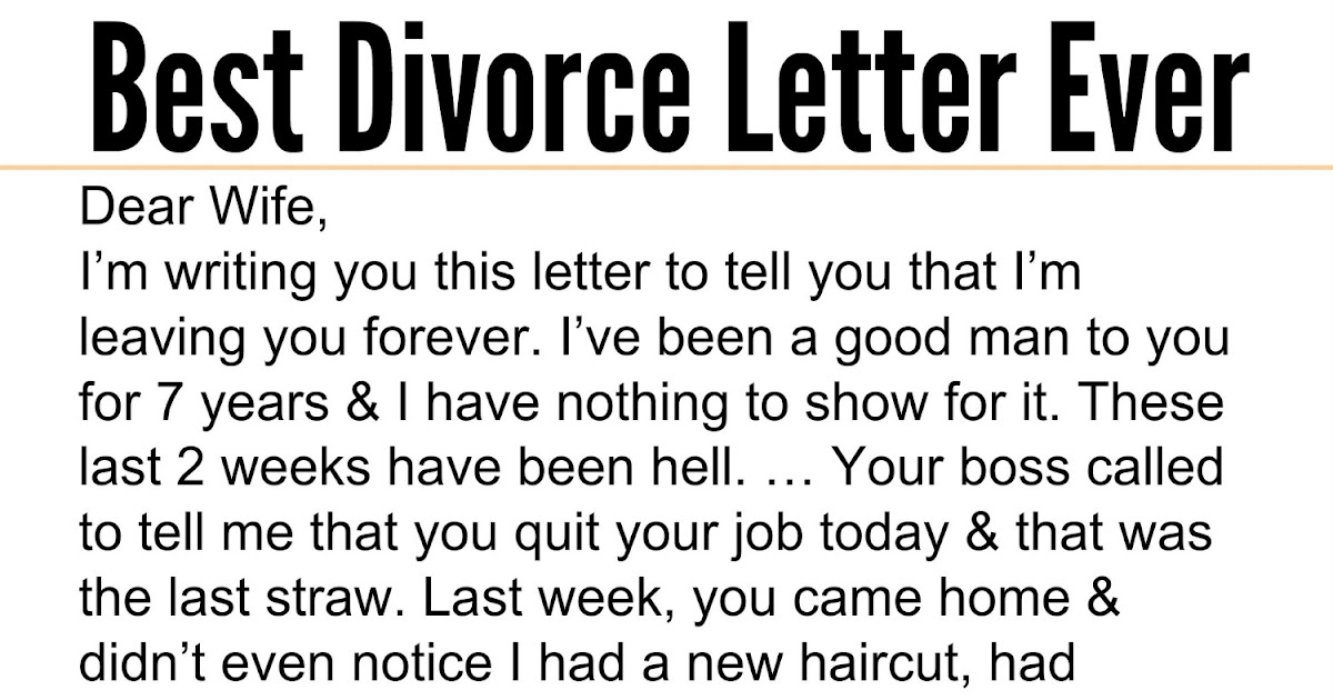 best divorce letter ever adorable quotes husband admits to sleeping with s 20587
