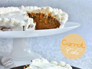Le carrot cake (ou gâteau à la carotte)