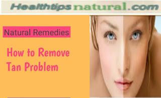 remove tan