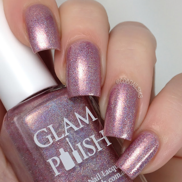 Glam Polish-Pink Gold Peach!