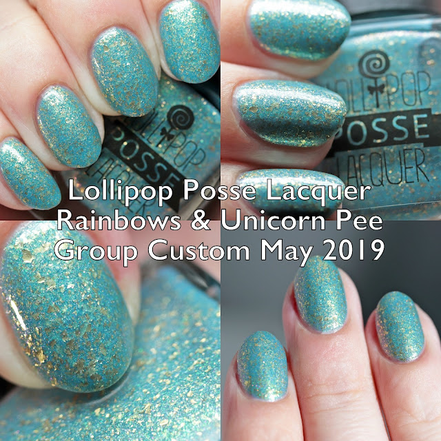 Lollipop Posse Lacquer Rainbows & Unicorn Pee Group Custom May 2019