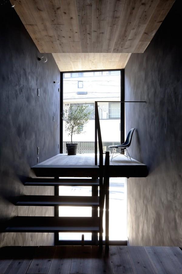 gach bong-nha18mnha18m Ngôi nhà có chiều ngang 1,8m khiến người người ghen tị vì quá sáng tạo