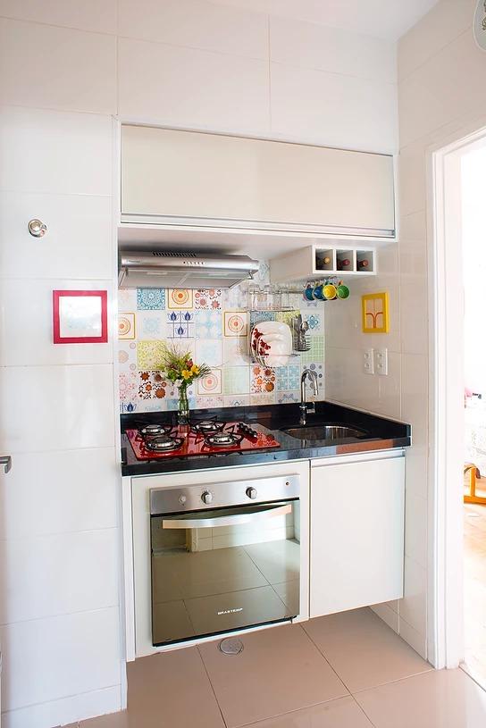 reforma da Mini cozinha por Edu Gomes. Blog Achados de Decoração