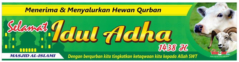 Download Desain Spanduk Idul Adha 1438 H Vector CDR ...