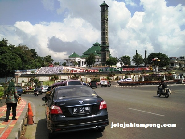Masjid Agung Al Furqon Bandar Lampung