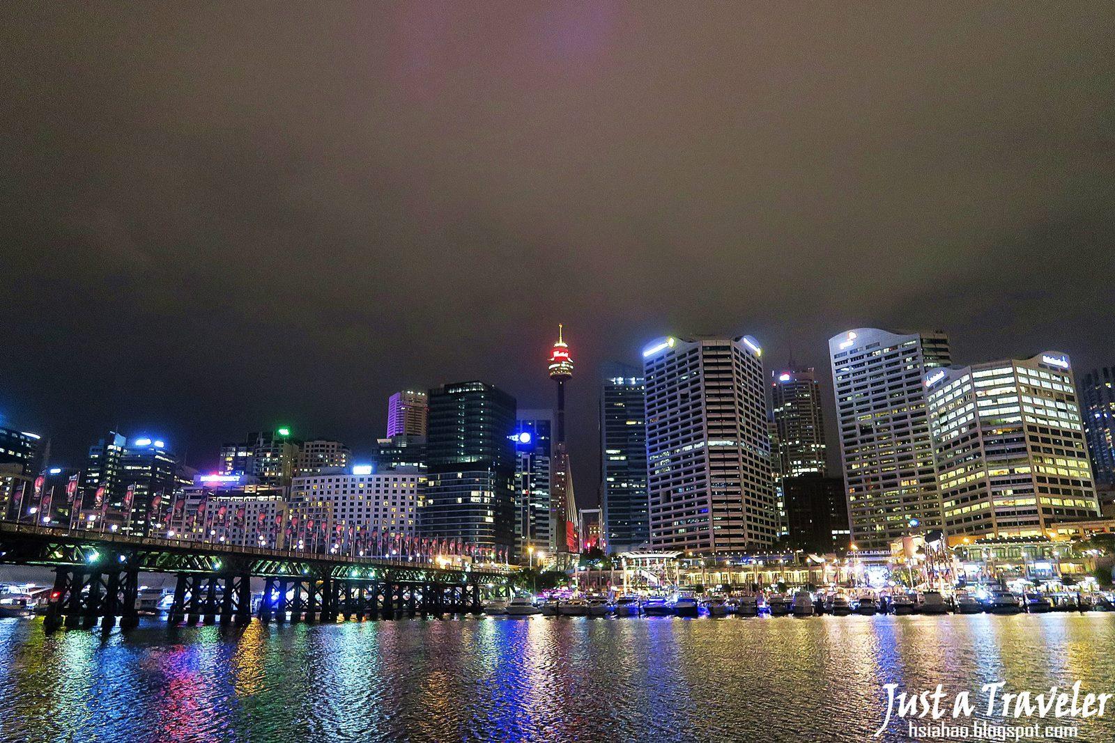 雪梨-景點-推薦-達令港-夜景-情人港-自由行-行程-旅遊-澳洲-Sydney-Darling-Harbour-Tourist-Attraction-Travel