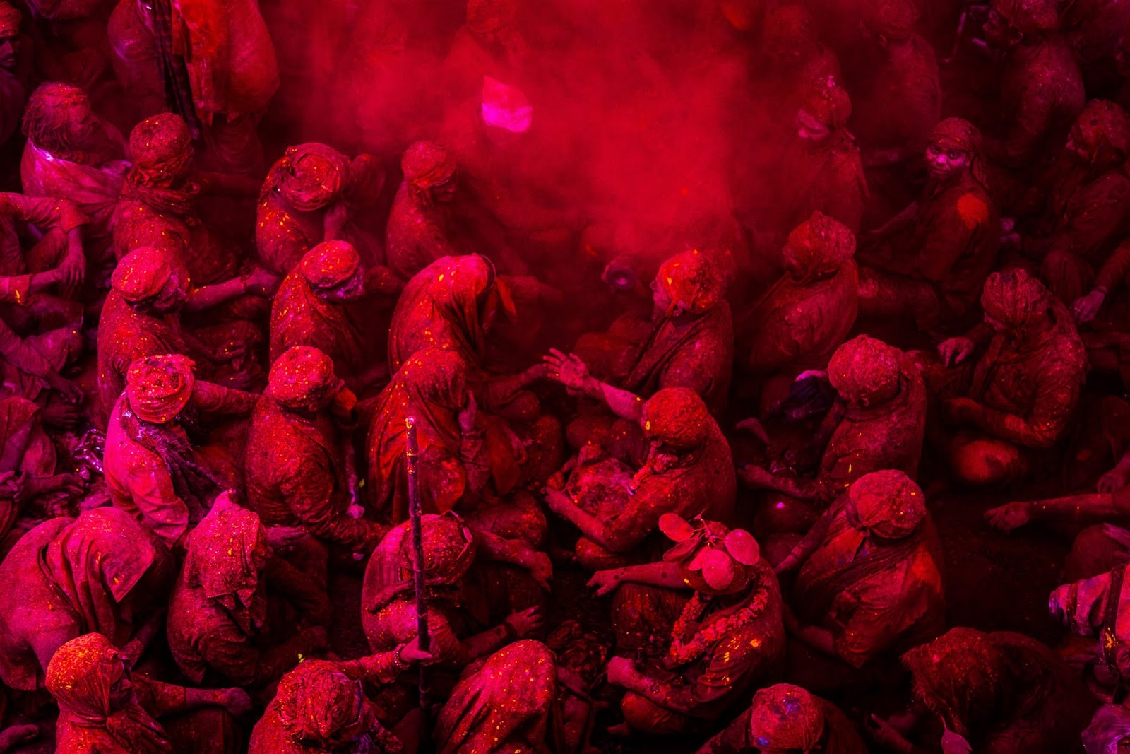 Image result for vrindavan holi hd Best Places to Celebrate Holi