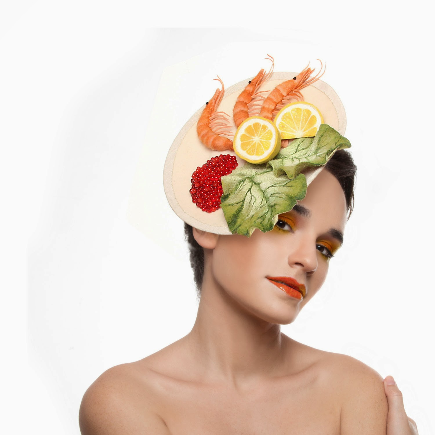 Creative Hats: Simply Creative: Realistic Food Hats By Maor Zabar