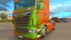 Lux Accessories for Scania RJL