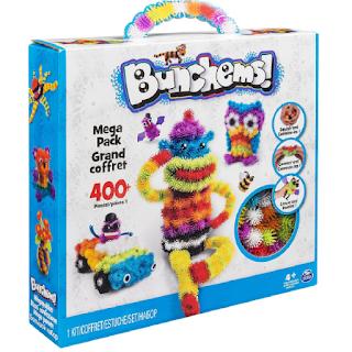 Bunchems sont de petites boules avec des crochets pour faire pleins de choses créatives.