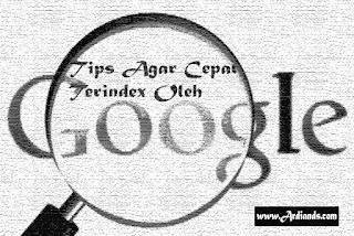 Tips Agar Backlink Cepat Terindex Oleh Google