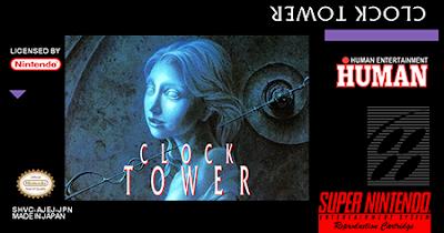Rom de Clock Tower - SNES em PT-BR