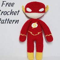 PATRON FLASH GORDON AMIGURUMI 28394