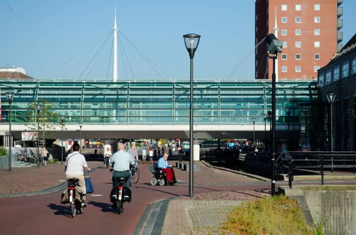 In Holland there is a city in which nobody uses cars.