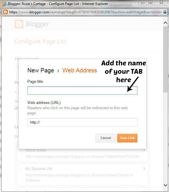 how to add tabs to blogger 2016