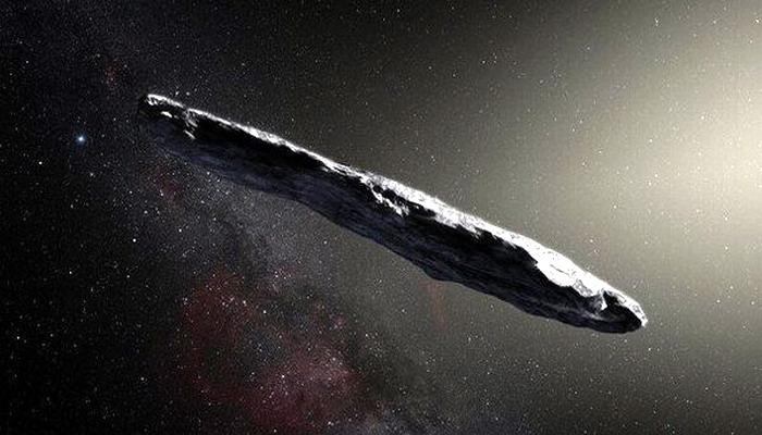 """Extraño """"OBJETO"""" con forma de cigarro está de visita en nuestro sistema solar. ¿un OVNI?"""