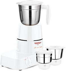 Maharaja Whiteline Alfa MX-153 500-Watt Mixer Grinder (White) worth Rs.2999 for Rs.1399 Only @ Amazon