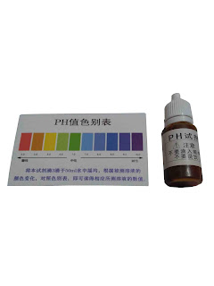 Liquid PH Tester Green World