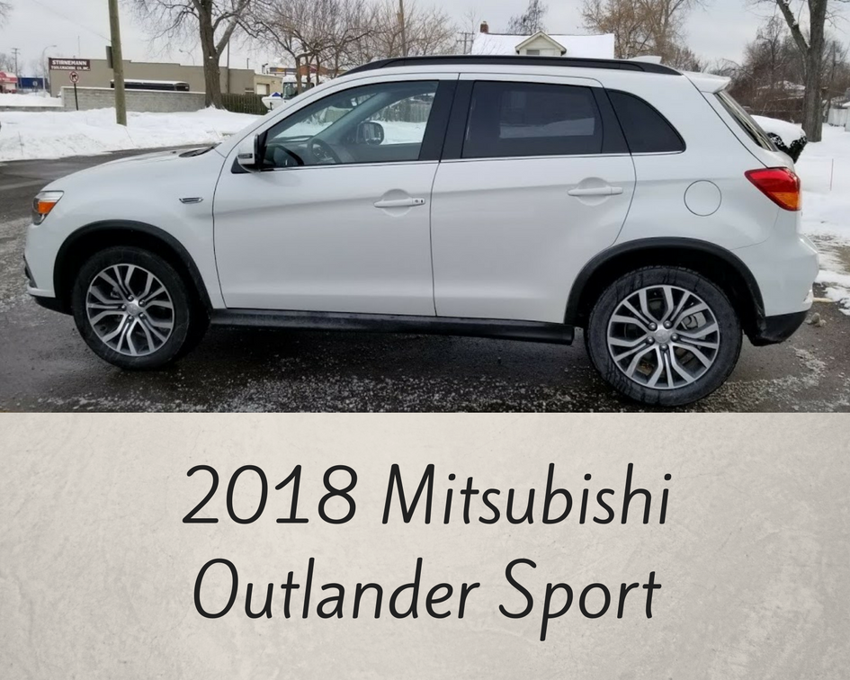 new year 39 s weekend with the 2018 mitsubishi outlander sport drivemitsubishi. Black Bedroom Furniture Sets. Home Design Ideas