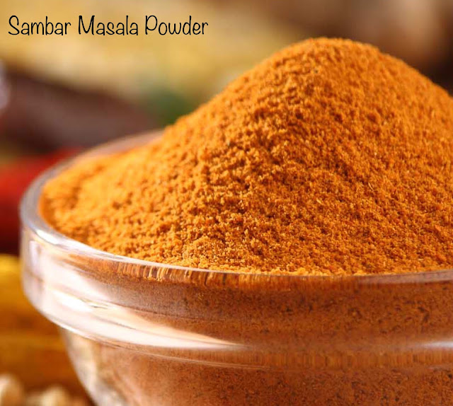 authentic sambar masala powder recipe | sambar masala | how to make sambar masala at home