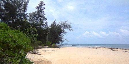 Akses / Lokasi ke Tempat Wisata Pantai Burung Mandi Belitung Timur