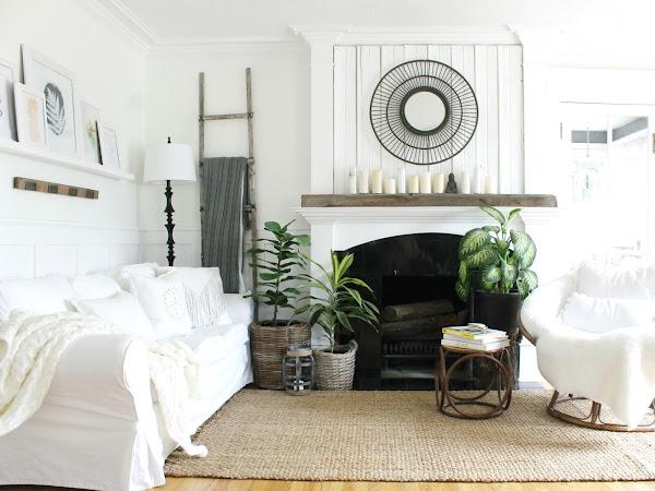 Neutral ZEN Living Room & A New Rug
