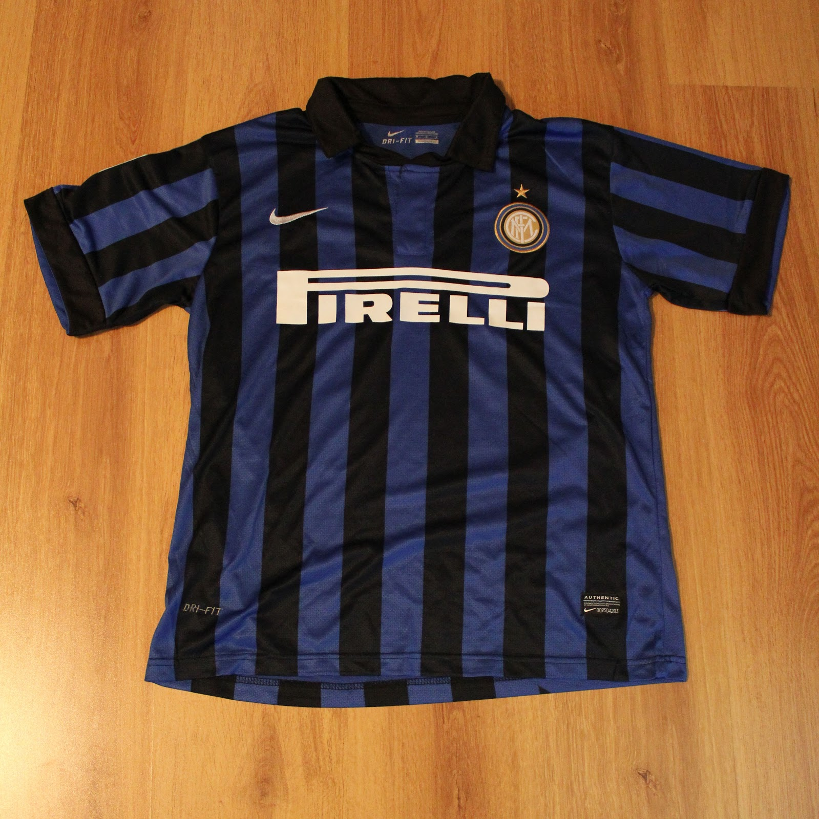 quality design 01b67 f3f38 Solana's football shirt collection: Inter Milan 2011/12 Home ...