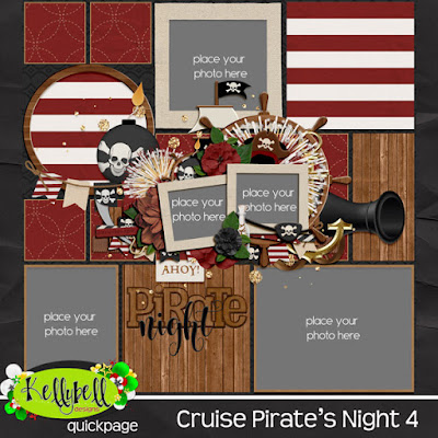 Cruise Pirate s Night Pocket Perfect Vol 13 by Kellybell Designs
