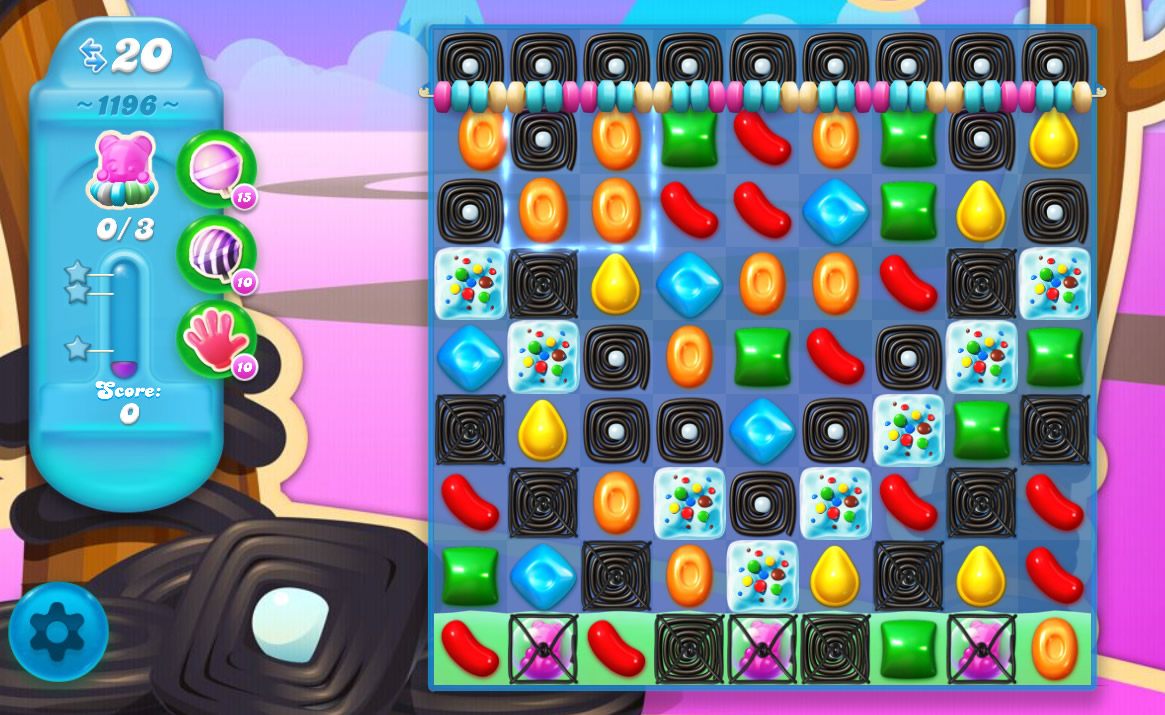 Candy Crush Soda Saga level 1196