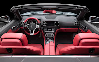 Mercedes-Benz SL dash