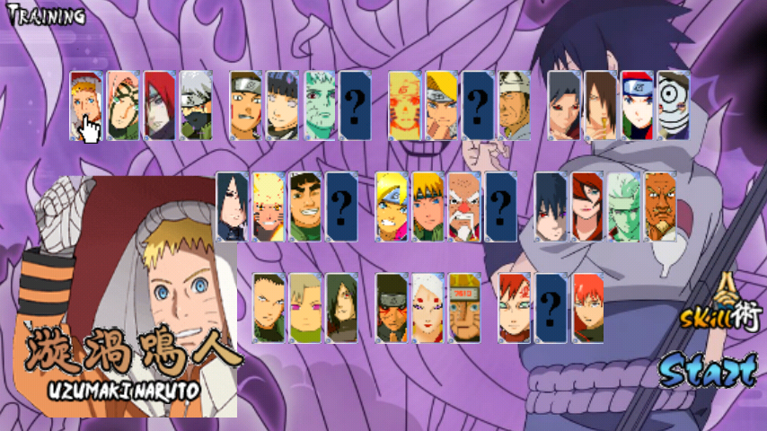 Download Naruto Senki Mod Ultimate Ninja Strom 4 Android v ...