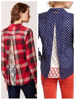 camisas, blusas, encajes, refashion, bricomoda, costura, encaje