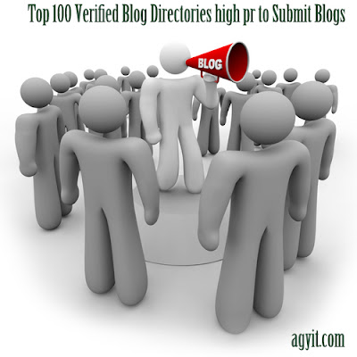 Top 100 Verified Blog Directories high DA to Submit Blogs 2019