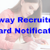 Railway Recruitment Board Latest Notification Released