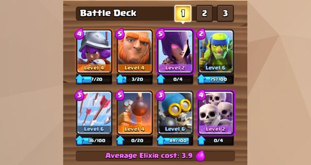 Deck kartu terkuat Clash Royale