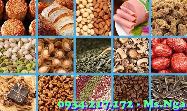 gói hút oxy cho nông sản, bánh, trà, trái cây sấy
