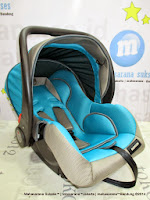 Infant Car Seat BabyDoes CH426 Baby Carrier - Blue Grey